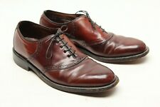 Vintage Hanover Hommes Coque Cordovan Selle Chaussures 11.5 D/B Marron
