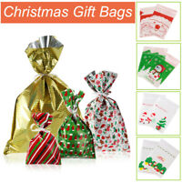 40PCS Christmas Gift Bags Wrapping Present Party Bag Xmas Bags Wedding Party USA