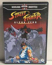 Streetfighter Alpha Zero Manga Anime DVD NL Subs Dutch Version