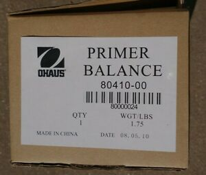 Ohaus 80410-00 Primer Mechanical Balance Triple Beam Scale