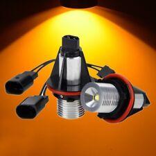 Amber LED Bulbs For Angel Eyes Halo Ring Marker Light X5 E39 E60 E63 E64 E65 E53