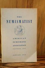 The Numismatist American Numismatic Association January 1952