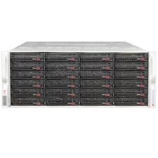 Supermicro Server CSE-848 4x 8C Xeon E5-4650 2,7GHz 64GB 24xLFF