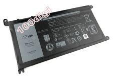 42Wh WDX0R Battery For DELL Inspiron 15 5568 / 13 7368 3crh3 I7368-0027 T2JX4