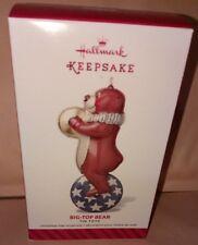 Hallmark ornaments BIG-TOP-BEAR Tin Toys 1st in Toys Series