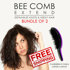 SOL Bee extend anti-tangle comb detangling brush. All hair types