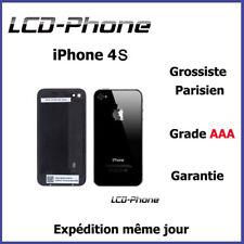 Vitre arrière iPhone 4S Noir + Logo + IMEI