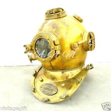 Antique Scuba Divers Diving Helmet Us Navy Mark V Deep Sea Marine Divers