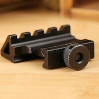 45 Degree 20mm Picatinny Scope Laser Offset Side Rail Mount Base For Rifle Tool