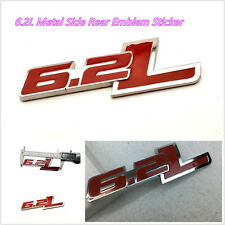 One PC 3D 6.2L Emblem Badge Car Auto Exterior Dekoration Aufkleber 3M Klebeband