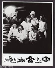 VINTAGE PRESS PHOTO / LOS FANTASMAS DEL CARIBE / 1990's / #2
