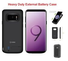 Galaxy S9 For External Battery Power 6000mAh Rechargeable Cover Case