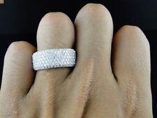 3.00 Carat Men's White Gold Over Diamond Engagement Wedding Pinky Band Ring