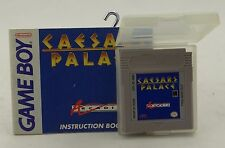 CAESARS PALACE ~ NINTENDO GAME BOY CARTRIDGE/GAME (1989) + INSTRUCTIONS ~ Casino
