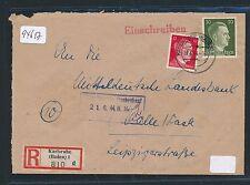 94617) DR Reco-Brief ab Karlsruhe (Baden) 1 d 19.6.44