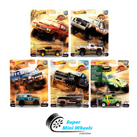 Hot Wheels Premium 2019 Car Culture K Case Desert Rally Set of 5 Cars
