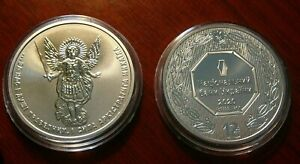 NEW DESIGN! 2020 ! UKRAINE ARCHANGEL MICHAEL 1 Oz 999 Silver Investment coin UAH