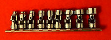 """Proto J47107 9 Piece 12 Point 1/4"""" Drive Universal Socket Set - Made in USA -"""