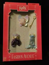 1998 Kelly Fashion Avenue Clothes 2 FAIRY & 1 MERMAID Outfits #16696 NEW