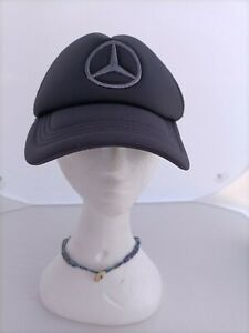 Mercedes-Benz Logo Snap Back hat, Semi Mesh. Free Postage !!