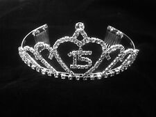 """Mis Quince Anos Quinceanera Tiara~Mis Quince Anos~15 Inside of Heart 2.25"""""""
