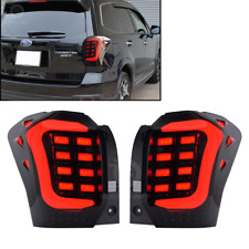 Fit Subaru Forester SJ XT LED Tail lights Lamp SUV Rear USDM Smoke 14-18