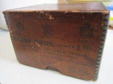 Un vuoto VINTAGE Hardy pesca con mulinello scatola pre 1936