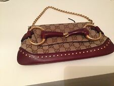 GUCCI VINTAGE (BY TOM FORD) HORSEBIT CLUTCH