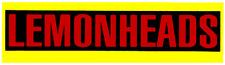 23030 Lemonheads Black & Red Logo Punk Rock Music Band 1990's Sticker / Decal