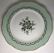 Lot2 De 6 Assiettes Plates En Demi Porcelaine L'amandinoise France D 24 Cm