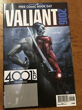Valiant 4001 A.D. FCBD Special 2016 Free Comic Book Day