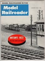 Model Railroader Train magazine Jan 1961 Britain's Best Worlds Great Layouts