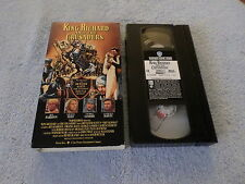 KING RICHARD AND THE CRUSADERS - (VHS, 1954) - REX HARRISON / VIRGINA MAYO