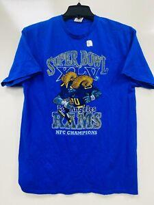 Los Angeles Rams T-Shirt Super Bowl XLV NFC Champions Size M NWT