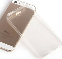 0.3mm Crystal Clear Soft Silicone Transparent TPU Case cover for iphone 5 5S AA