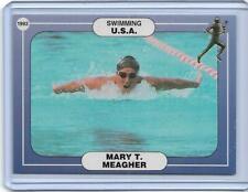 RARE 1992/93 ICCOA MARY T. MEAGHER CARD #27C ~ USA SWIMMING  OLYMPICS ~ ATHLETES