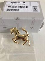 Ferrari 430 458 488 Front Bumper Horse Emblem Badge Gold P/N 60032109