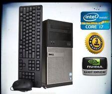 Core i7 Dell GAMING PC Desktop - GeForce GTX 1060 SSD 16GB RAM Win10 FORTNITE!