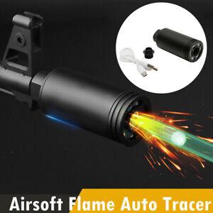 Tactical Pistol Tracer Lighter Flaming Pig Suppressor Flash Barrel forAuto Rifle