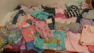 Lot Of 55, 3T/4T Toddler Girl Spring Summer Clothes