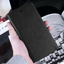 Luxury Magnetic Black Wallet Flip Case Cover For Samsung Galaxy Note II N7100