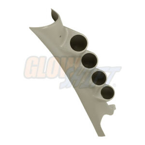 2006-2009 Dodge Ram Factory Matched Taupe Quad Gauge Pillar Pod fits CUMMINS