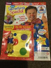 CBeebies Something Special Magazine Issue 2 my mr tumble toy and bag