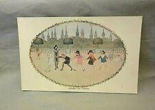Antique H Willebeek Le Mair Augener Postcard Nursery Rhyme Oranges And Lemons 2