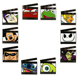 2011 Disney Hollywood Studios Film Clapboards Set of 10 Pins