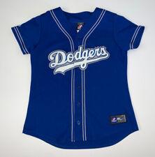 Women's Majestic Los Angeles Dodgers Jersey Size M Blue MLB Baseball