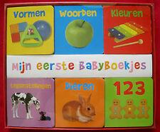 Mijn eerste babyboekjes - 6 kartonboekjes