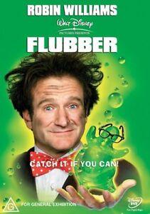 Flubber DVD Disney Kids Family Movie - Starring Robin Williams - FREE POSTAGE