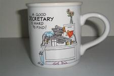 A Good Secretary Is Hard To Find Mug Cup Coffee White Free Shipping -081341