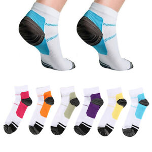 6 doppelt Sneaker Socken Kompressions Kurzsocken Baumwolle Sport Erwachsene